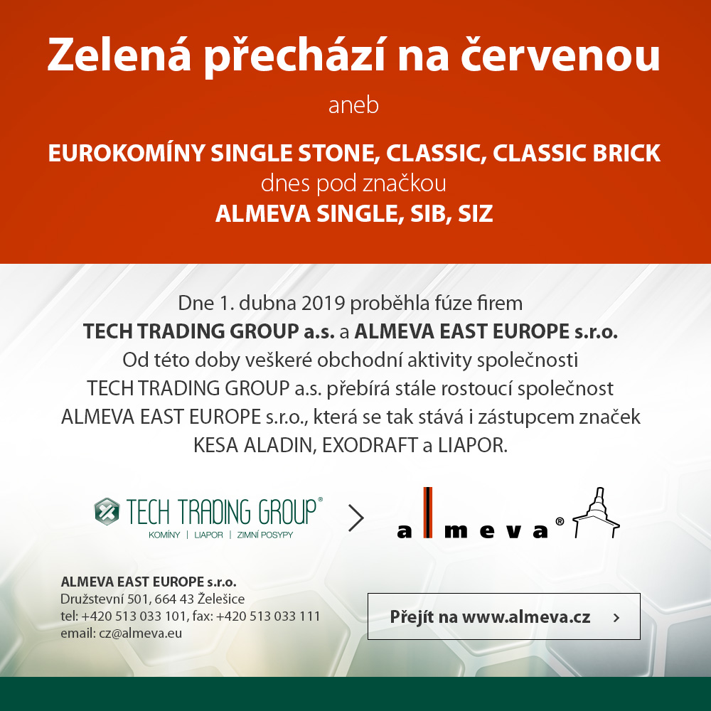 TECH TRADING GROUP a.s. - Almeva